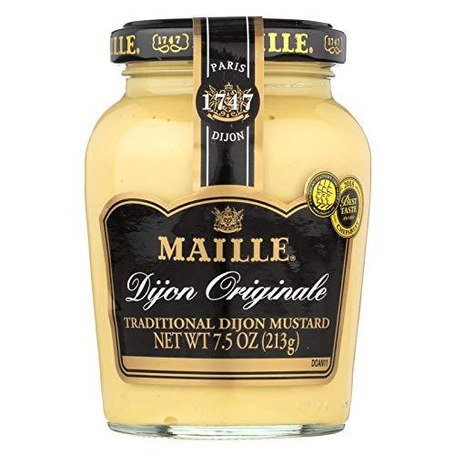 Maille, Mustard Dijon Trdtnl, 7.5 OZ (Pack of 6)