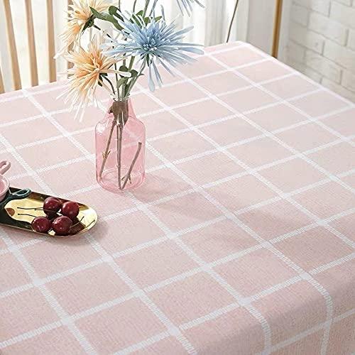 sans_marque Paño de mesa, utilizado para el paño de mesa, cubierta de mesa, utilizado para la decoración de la mesa, con cubierta de mesa a prueba de polvo 90* 140cm