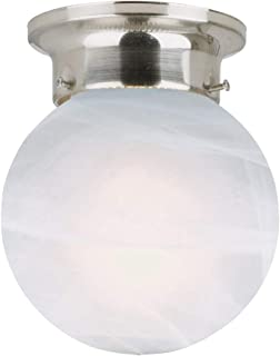 brushed silver light fixtures