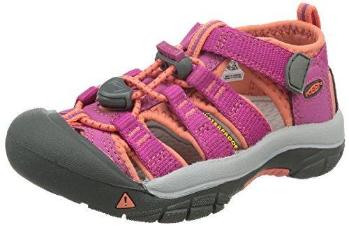 Keen Unisex-Kinder Newport H2 Trekking-& Wandersandalen,Pink (very berry/fusion coral),38 EU
