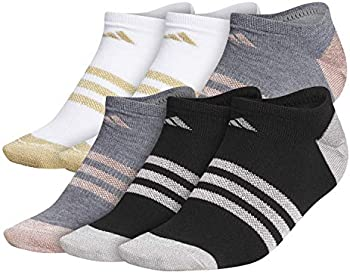 6-Pack adidas Women's Superlite No-Show Socks