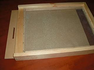 Beekeeping Bee Hive Screened Bottom Board with Closing Sheet