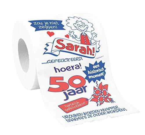 Toiletpapier - 50 Jaar - Sarah