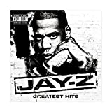 Jay-Z's Albumcover – Greatest Hits Leinwand-Poster,