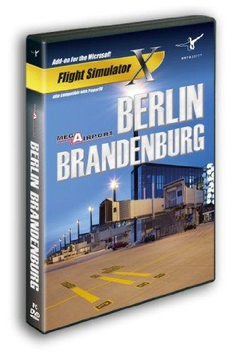 Mega Airport Berlin-Brandenburg (FS X + Prepar3D Add-On) PC