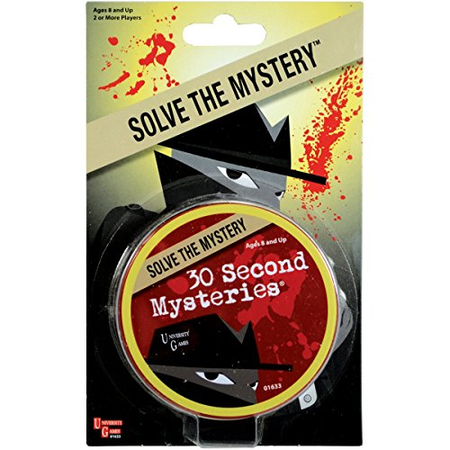 University Games Mystery, Mind and Logic - 30 Second Mysteries Red