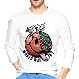 The Chainsmokers Men's Cotton Classic Long Sleeve T-Shirt Black