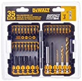 DEWALT DW2180 IMPACT READY Drilling/Fastening Set, 35-Piece by DEWALT