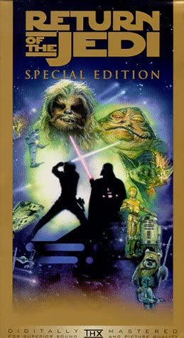 new arrival Star popular Wars, Episode high quality VI: Return of the Jedi (Special Edition) [VHS] outlet online sale