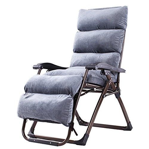 All transat Pliant Chaises Pliantes Chaises de Bureau Chaises Longues Chaises de Plage (154 * 80 * 74cm) (Couleur : B)