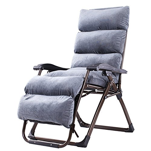 Folding Chair YAN SYF Einfache Liege Klappstuhl Bürostuhl Liege Strandstuhl Siesta Stuhl Büro Ältere Sofa Stuhl Sonnenliege 154x80x74cm A+ (Color : B)
