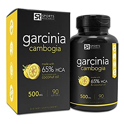 Pure Garcinia Cambogia Infused with Organic Coconut Oil | 2-in-1 Support for Healthy Weight Management |