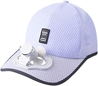 d105ae6dc448a Solar Energy Belt Fan Baseball Golf Hat Storage Belt Switch Fan Cap Sun hat  Peaked Cap