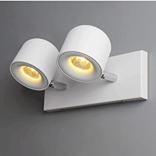 Sconce/Wall Sconces Led Modern Wall lamp 2 Lights 340 Degree Rotating Wall lamp Wall Lamp Light (Color : A)