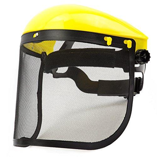 Gesichtsschutz Augenschutz für Freischneider Motorsense Rasentrimmer SN11013
