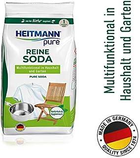 HEITMANN pure Reine Soda: Ökologischer Vielzweck-Reiniger f