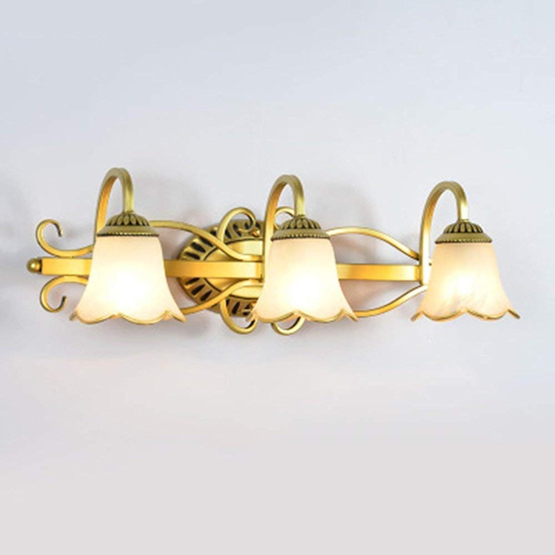 YLCJ Spiegelleuchte, Wandleuchte Spiegelleuchte Simple Youth Home Decor Tischlampen und Nachttisch Badezimmer Schlafzimmer D