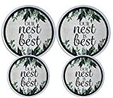 Set of 4 Electric Stove Burner Covers (Nest)