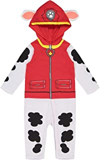 Paw Patrol Marshall Boys' Hooded Costume Coverall