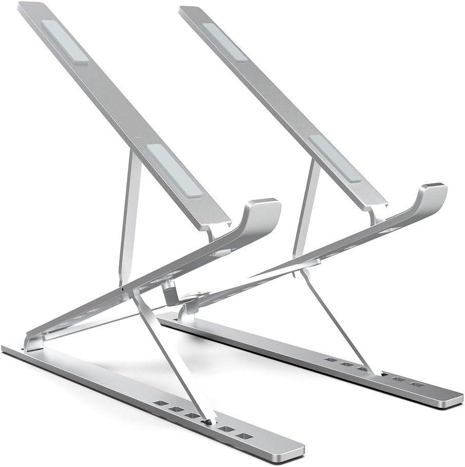 ElfAnt Laptop Stand Adjustable Portable Aluminum for 10