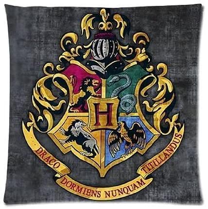 SHAA Harry Potter Hogwarts - Funda de almohada para cojín (55 x 55 cm) 26