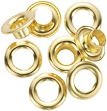 "General Tools 1261-2 Rustproof Solid Brass, 3/8-Inch 3/8"" Grommet Refill, 24 Sets"
