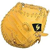GP(ジーピー) 野球 キャッチャーミット 一般軟式用 Lサイズ イエロー 46372Y