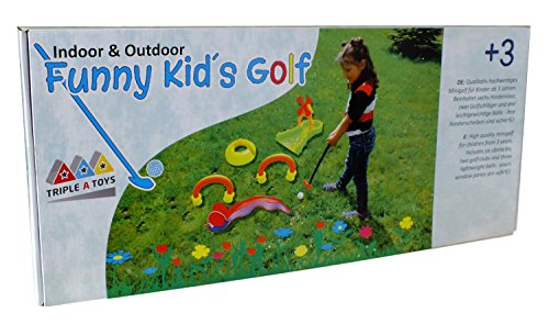 Triple A Toys 20093 Set de Golf Funny Kids 10T
