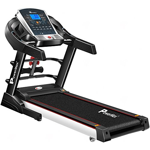 Powermax Fitness TDM-125S (2.0 HP), Smart Run Function, Auto...