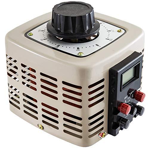 Frantools Stelltransformator Stelltrafo 1000VA Ringkerntransformator 0-300V