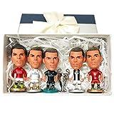 Cradifisho–Jugador de fútbol, Fan del Real Madrid, Ronaldo, exquis Modelo, Liga de Campeones, muñeca de la Liga de campeones, muñeca Modelo, Regalo de cumpleaños, Regalo de noël- (5+ 1)