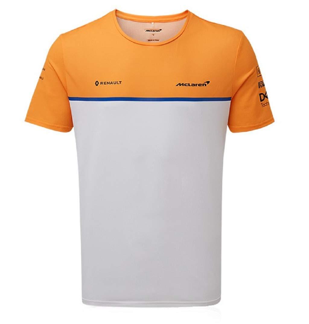 McLaren F1 2019 - Camiseta para hombre, color blanco, XXL, Papaya: Amazon.es: Deportes y aire libre
