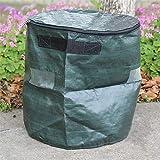 Tbaobei-Baby Jardinera Jardinera Inicio Jardín Suministros 33x35cm PE Bolsa de Cultivo Pot Vegetales Que Crecen Bolsa colectora de jardín al Aire Libre Macetas (Color : Green, Size : One Size)