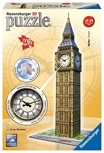 Ravensburger 125869 Puzzel Big Ben Londen 3D: 216 Stukjes