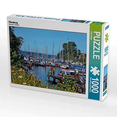 CALVENDO Puzzle Flensburg 1000 Teile Lege-Größe 64 x 48 cm Foto-Puzzle Bild von Peter Roder