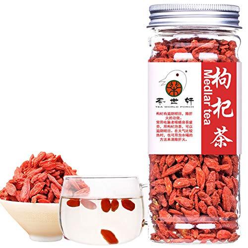 Plant Gift Goji Berries, Goji Berry Tea, Herbal Tea Goji Berries Dried, Chinese Wolfberry, Dry Fruits, Chinese Food 125G / 4.41oz