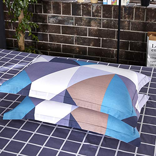 WAWA Komfortabel, warm, waschbar, langlebig und pflegeleicht,Baumwolle Baumwolle Umschlag Kissenbezug Polka Karte 48 * 74cm