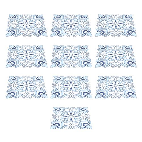 10 Uds, Adhesivo para azulejos, suelo, pared, hermético, antideslizante, adhesivo de pared autoadhesivo para armario de cocina y baño