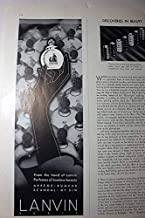 Advertisement for Lanvin - Arpege, Rumeur, Scandal, My Sin