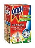 Catch Expert – Recharge Liquide pour Diffuseur Electrique Anti–Moustiques & Moustiques Tigres – Parfum Fleurs Blanches – 45 Nuits