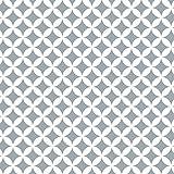 Venilia KF Basic Monica grey 45cmx1,5m adhesiva decorativa, muebles, papel pintado, lámina autoadhesiva, PVC, sin ftalatos, 1,5m, 54767, 45 cm x 1,5 m
