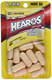 Hearos, Ear Plugs Ultimate Softness, 12 Count