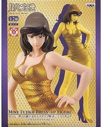 Lupin III DX vorgefertigten Kleid Fujiko-Mine figur Metallic-Farbe Kleid - Gold einzelnes Element (japan import)
