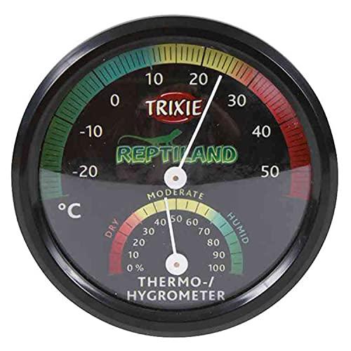 TRIXIE Termómetro/Higrómetro, Analógico para Reptiles