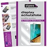 dipos I 2X Schutzfolie klar kompatibel mit Vodafone Smart Prime 7 Folie Bildschirmschutzfolie