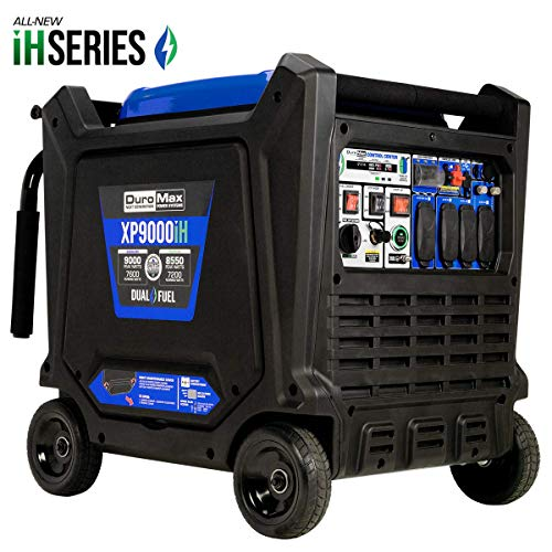 DuroMax XP9000iH 9000-Watt 459cc Dual Fuel Digital...