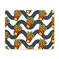 Tapis Souris Frites drôles de restauration rapide sur les tapis de souris Rectangle de vagues tapis de souris/tapis de souris 25CM X 30CM