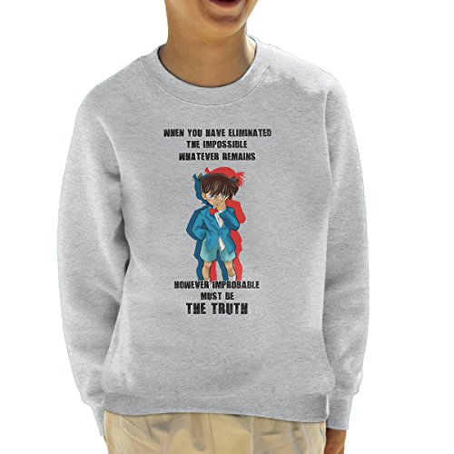 The Truth Detective Conan Case Closed Sweatshirt voor kinderen