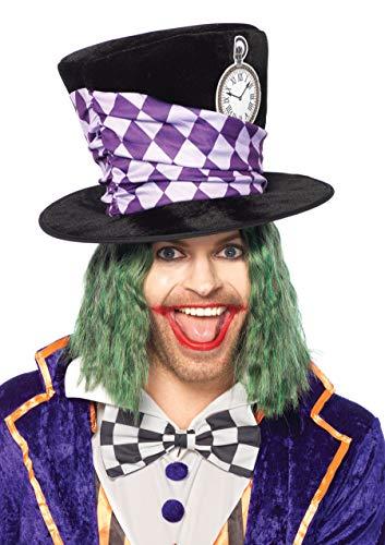 Leg Avenue A2777 Extra Large Mad Hatter Chapeau Veste de Costume (Taille Unique)