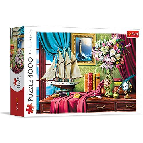 Trefl- Puzzles 4000 Puzzels, Color Coloreado (45008)